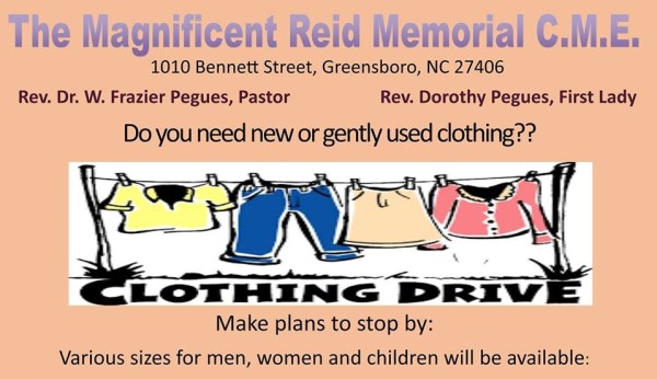 Clothing Drive Flyer (2)