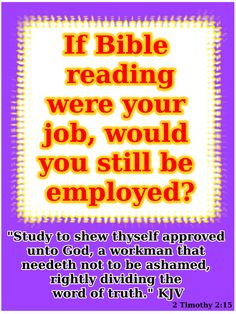 if the bible