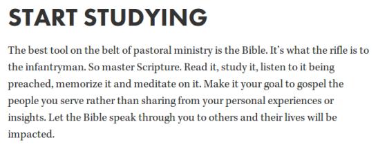 start studying
